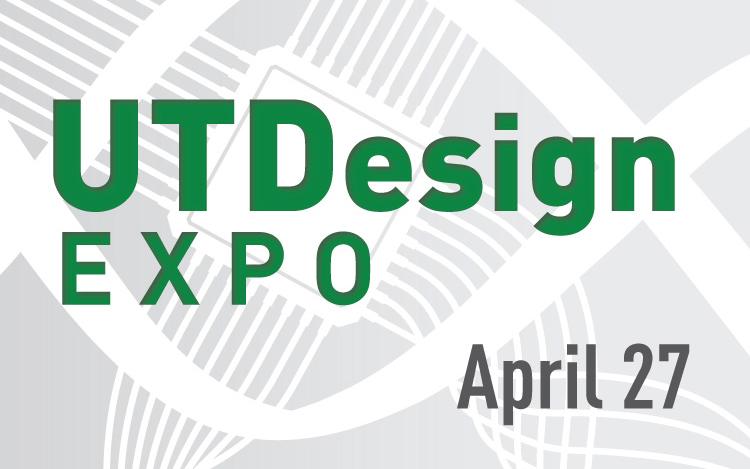 UT Design Expo April 27