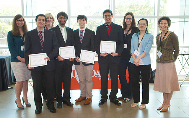 Bioengineering undergraduate students that presented at the National Conference on Undergraduate Research