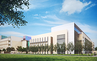 Render of the Bioengineering Science Building